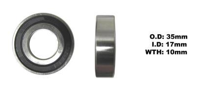 Picture of Bearing NTN 6003LLU(I.D 17mm x O.D 35mm x W 10mm