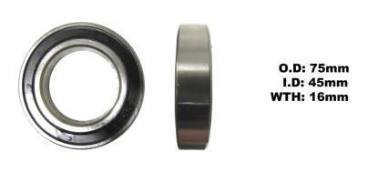 Picture of Bearing NTN 6009LLU(I.D 45mm x O.D 75mm x W 16mm)