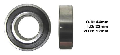 Picture of Bearing NTN 60/22LLU(I.D 22mm x O.D 44mm x W 12mm)