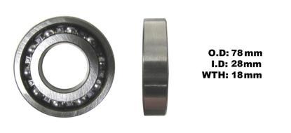 Picture of Crank Bearing R/H for 2011 Honda XL 125 VB Varadero
