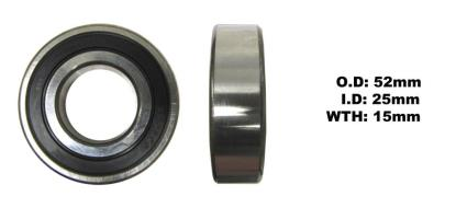 Picture of Bearing NTN 6205LLU(I.D 25mm x O.D 52mm x W 15mm)
