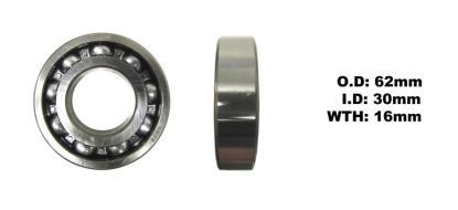 Picture of Bearing NTN 6206 C4 (I.D 30mm x O.D 62mm x W 16mm)