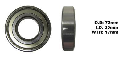 Picture of Bearing NTN 6207ZZ(I.D 35mm x O.D 72mm x W 17mm)
