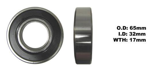 Picture of Bearing NTN 62/32LLU (I.D 32mm x O.D 65mm x W 17mm)
