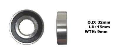 Picture of Bearing SNR 6002EEU(I.D 15mm x O.D 32mm x W 9mm)