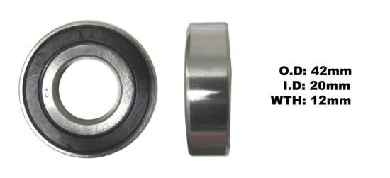 Picture of Bearing SNR 6004EEU(I.D 20mm x O.D 42mm x W 12mm)