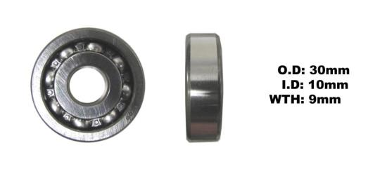 Picture of Bearing SNR 6200(I.D 10mm x O .D 30mm x W 9mm)