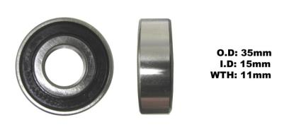 Picture of Bearing SNR 6202EEU(I.D 15mm x O.D 35mm x W 11mm)