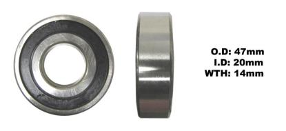 Picture of Bearing SNR 6204EEU(I.D 20mm x O.D 47mm x W 14mm)