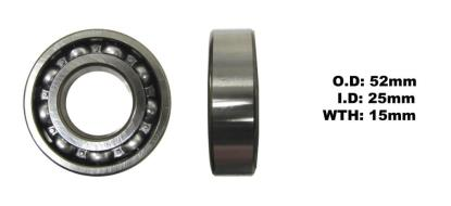 Picture of Bearing SNR 6205(I.D 25mm x O.D 52mm x W 15mm)