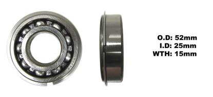 Picture of Bearing SNR 6205NR(I.D 25mm x O.D 52mm x W 15mm)
