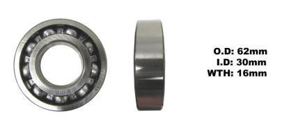 Picture of Bearing SNR 6206(I.D 30mm x O.D 62mm x W 16mm)