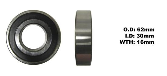 Picture of Bearing SNR 6206EEU(I.D 30mm x O.D 62mm x W 16mm)