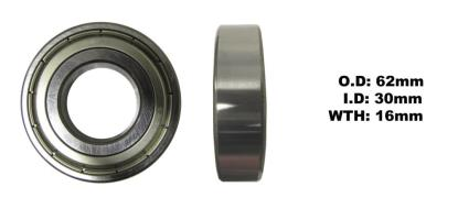 Picture of Bearing SNR 6206ZZ(I.D 30mm x O.D 62mm x W 16mm)
