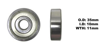 Picture of Bearing SNR 6300ZZ(I.D 10mm x O.D 35mm x W 11mm)