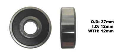 Picture of Bearing SNR 6301EEU(I.D 12mm x O.D 37mm x W 12mm)