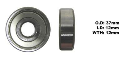 Picture of Bearing SNR 6301ZZ(I.D 12mm x O.D 37mm x W 12mm)