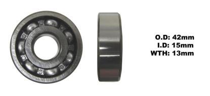 Picture of Bearing SNR 6302(I.D 15mm x O.D 42mm x W 13mm)