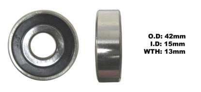 Picture of Bearing SNR 6302EEU(I.D 15mm x O.D 42mm x W 13mm)