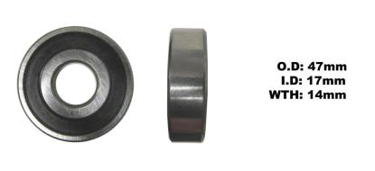 Picture of Bearing SNR 6303EEU(I.D 17mm x O.D 47mm x W 14mm)