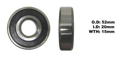 Picture of Bearing SNR 6304EEU(I.D 20mm x O.D 52mm x W 15mm)