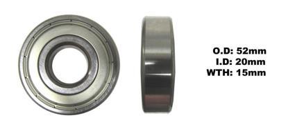 Picture of Bearing SNR 6304ZZ(I.D 20mm x O.D 52mm x W 15mm)