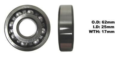 Picture of Bearing SNR 6305(I.D 25mm x O.D 62mm x W 17mm)