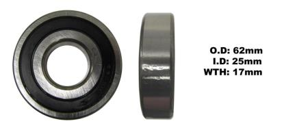 Picture of Bearing SNR 6305EEU(I.D 25mm x O.D 62mm x W 17mm)