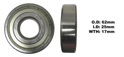 Picture of Bearing SNR 6305ZZ(I.D 25mm x O.D 62mm x W 17mm)