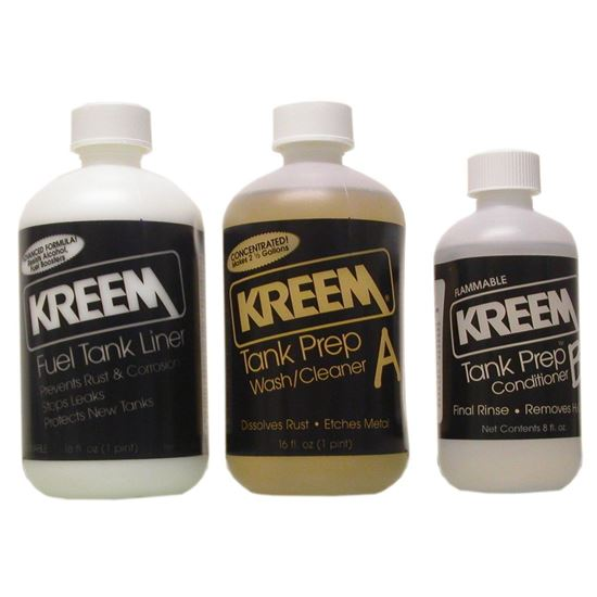 Picture of Kreem Combo-Pak includes fuel tank liner & tank prep
