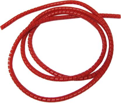 Picture of Cable Cover Red 5mm x 7mm 1.5 Metres