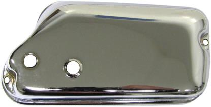 Picture of Air Filter Cover Chrome PX/PE with Autolube & Lower Oil Line