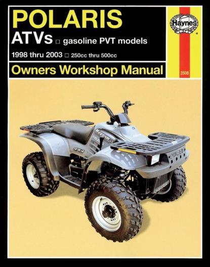 Picture of Haynes Manual 2508 POLARIS ATV's 98-06