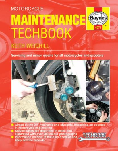 Picture of Haynes Manual  4071 Motorcycle MAINTENANCE TECHBOOK-SPECIAL