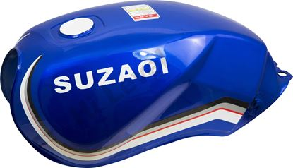 Picture of Petrol Tank for 1983 Suzuki GS 125 ESD (Front Disc & Rear Drum)