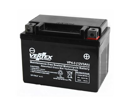 Picture of Vertex VP4-3 (B) Battery