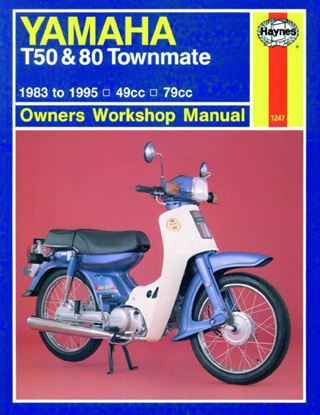 Picture of Workshop Manual Yamaha T50, T80 Townmate 1983-1995
