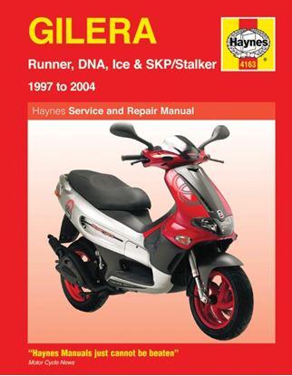 Picture of Haynes Manual  4163 GILERA RUNNER/DNA/STALKER & ICE 97-11