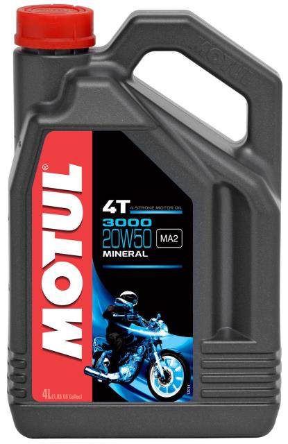 Picture of Motul 3000 20w50 4T Mineral (4)